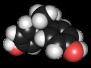 Bisphenol A molecule