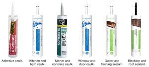 A caulk guide created by Lowes